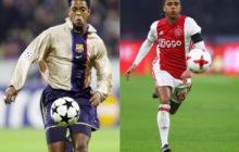 Padres e hijos futbolistas