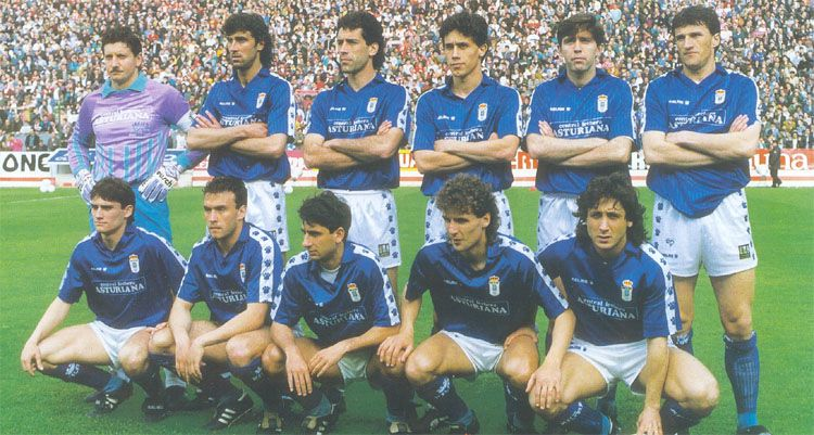 Football 90's : the second golden age of Real Oviedo
