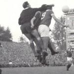 La final de Berna entre el Barcelona y el Benfica supuso el final de los postes cuadrados