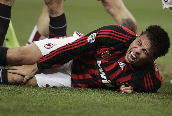 Ronaldo se lesionó y luego volvió después de una lesión grave.