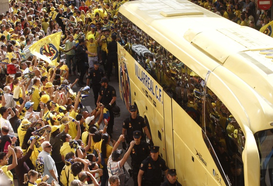 The fans of Villarreal is one of the great bulwarks team.