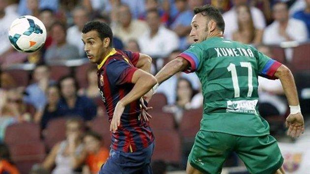 Jordi Xumetra debutó en Primera División frente al Barça.