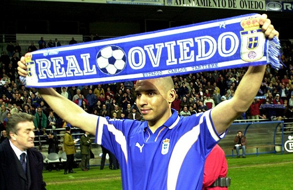 Loose Stan Collymore step by Real Oviedo