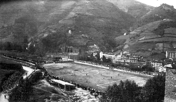 The Eibar field is synonymous with mud, rain and mountains.