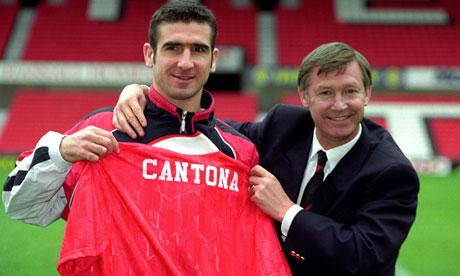Los caminos de Cantona y Ferguson se cruzaron en 1992.