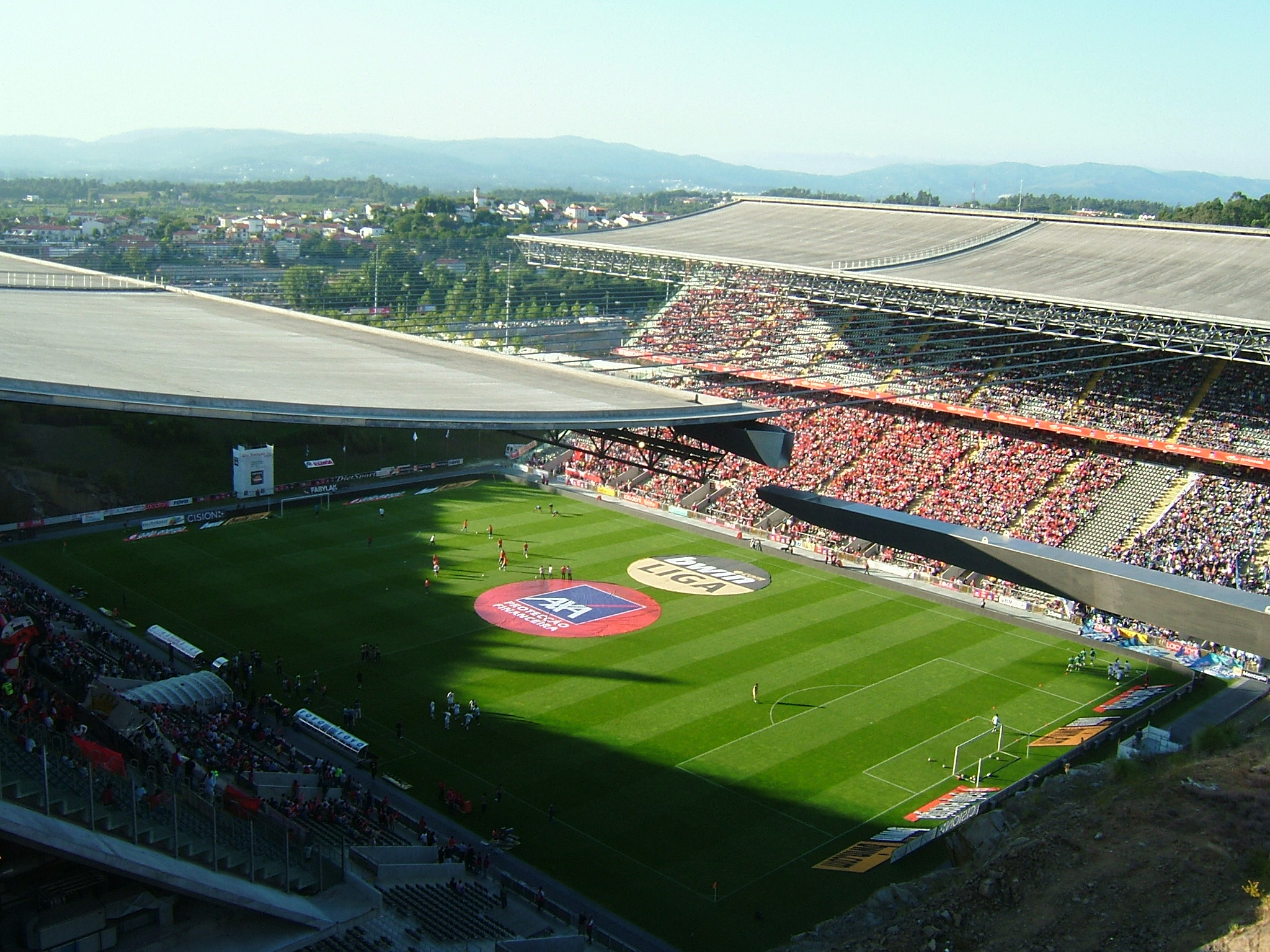 Braga Municipal Stadium, a marvel of modern engineering