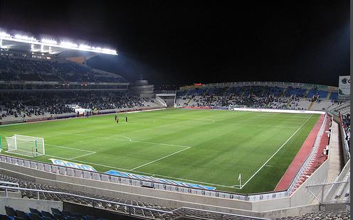 El GSP de Nicosia es el estadio más grande de Chipre.