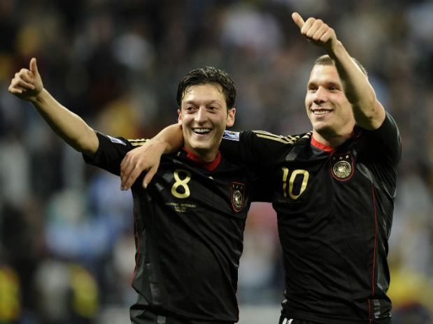 Alemania también ha jugado de negro.