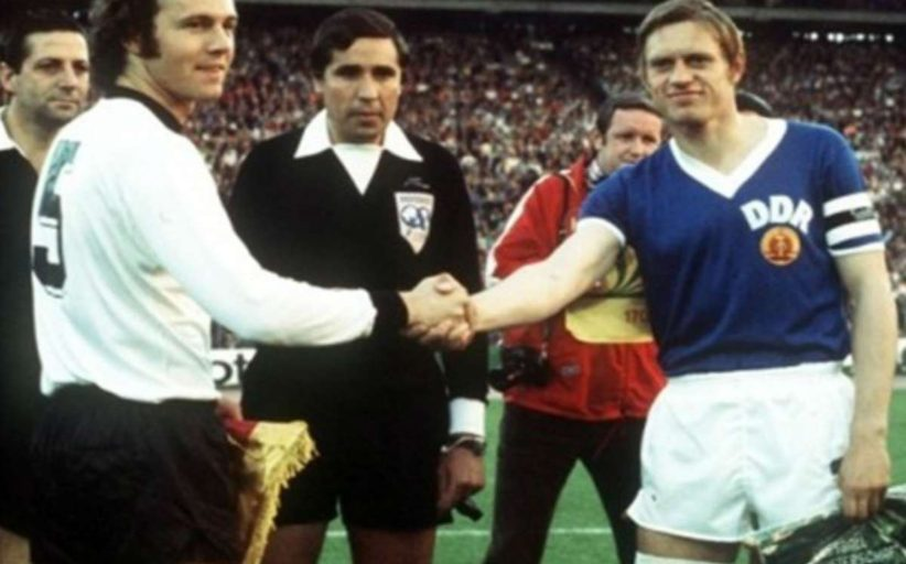 Germany vs Germany: when he faced political football and the same country
