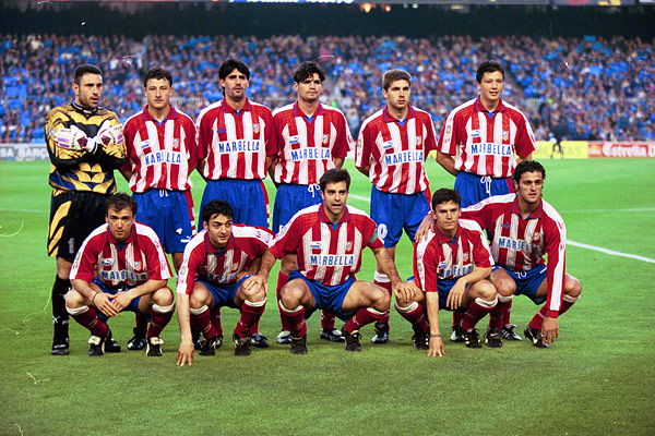 En el Atlético del doblete formaron parte Pantic, Kiko, Molina o Vizcaino entre otros.