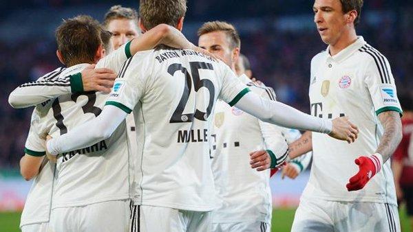 El Bayern saca 19 puntos al Leverkusen a falta de 12 jornadas.