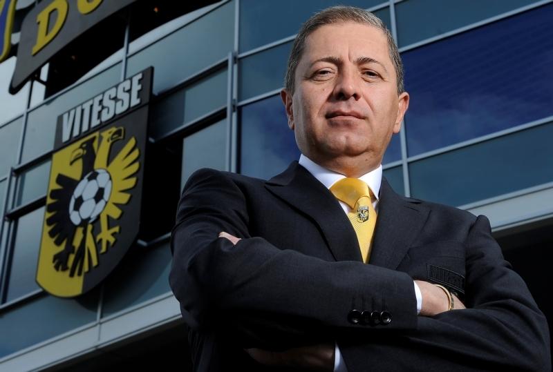 Merab Jordan ist der Präsident des Clubs und Freund von Abramovic.