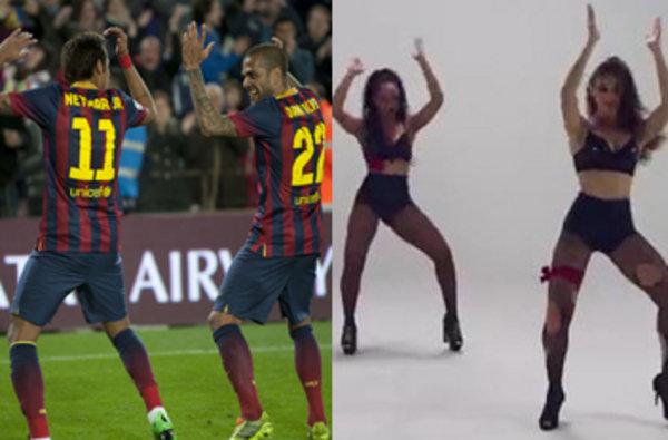 Neymar volvió y marcó y lo celebró a lo grande.