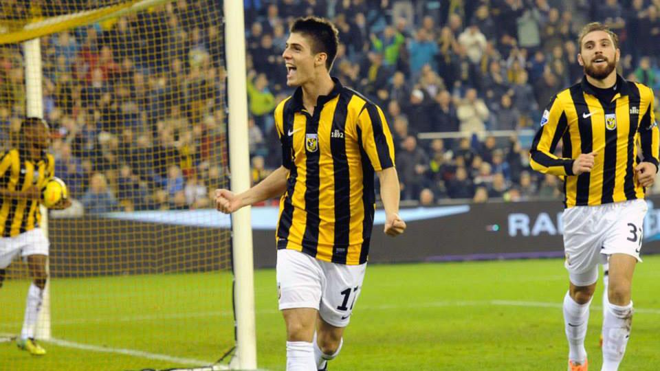 Lucas Piazon es el mejor jugador del actual Vitesse.