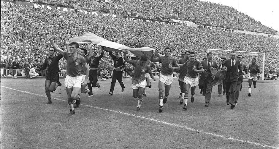 Brazil won the first World Cup in Sweden.