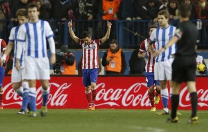 Villa marcó, se le dedicó a  Luis y se lesionó en el muslo perdiéndose el próximo derby.