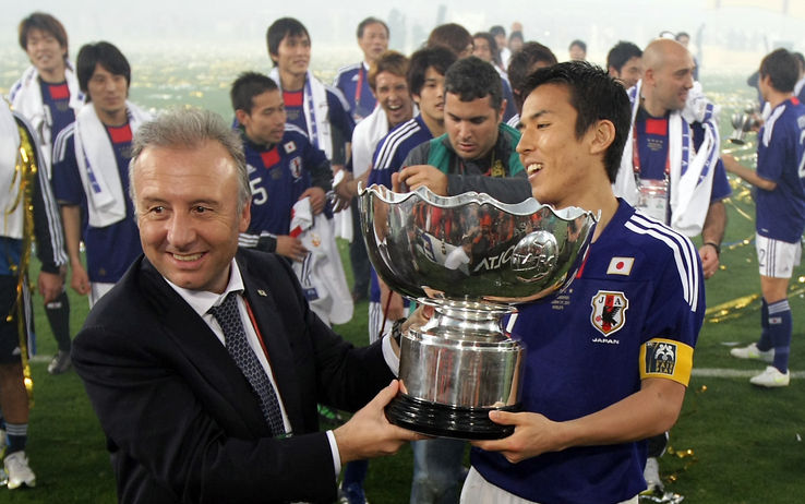 Alberto Zaccheroni is the Japanese coach.