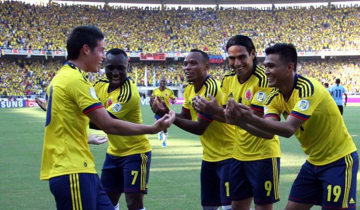 Colombia tiene mucho gol pese a la posible baja de Falcao.