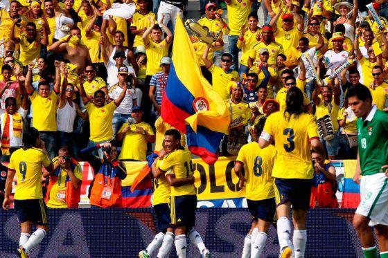 Colombia tiene mucho gol a pesar de la posible baja de Falcao.