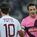 Who are you staying with, Totti or del Piero?