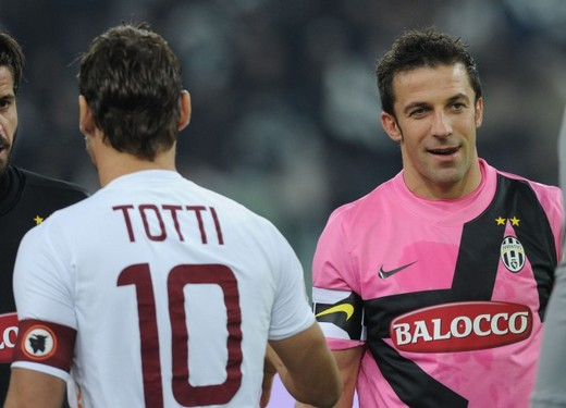 Totti y Del Piero ¿quién fue mejor?