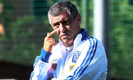 Fernando Santos es el técnico heleno.