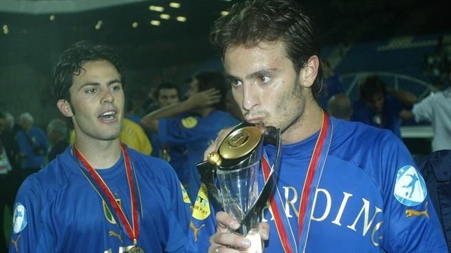 Alberto Gilardino tiene el récord de goles en categoría Sub 21.