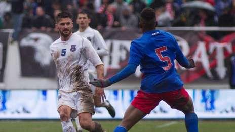 Kosovo y Haití disputaron un amistoso histórico.