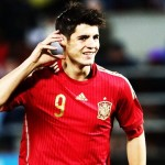 Alvaro Morata, looking for a record with Spain