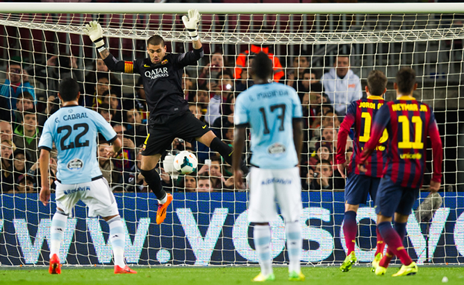 This action cost Valdes severe injury.