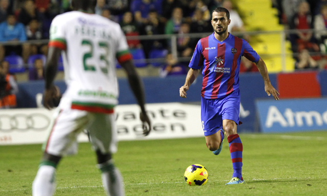 Vyntra has played almost everything since coming to Levante.