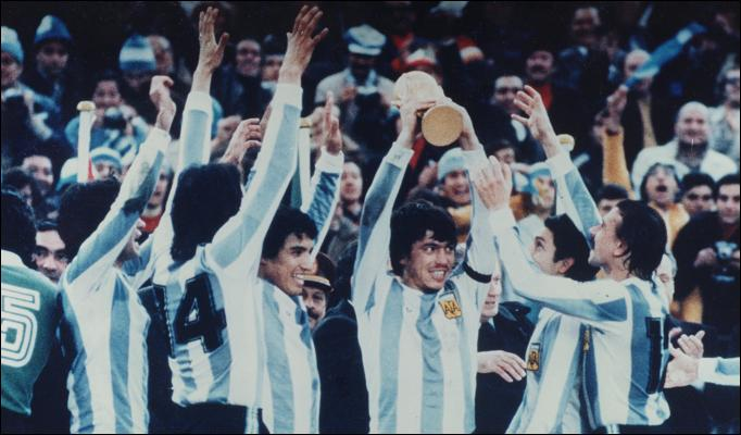 Passarella, Kempes, but Maradona. That was the Argentina of Mennotti.