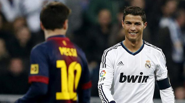 Real Madrid and Barcelona have the two best in the world: Ronaldo and Messi.