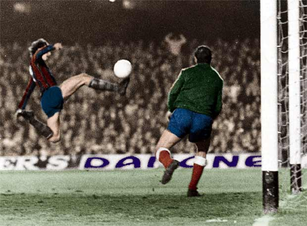 Los diez mejores jugadores de la historia del Barcelona