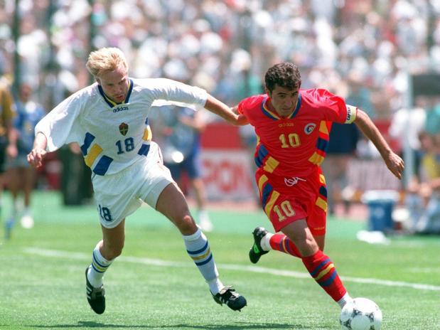 Hagi ha representado el fútbol de alta escuela en Rumania.