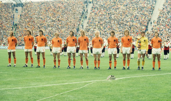 Holland revolutionized the world of football.