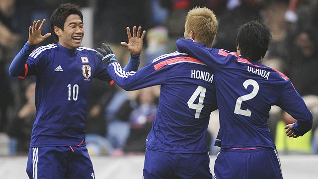 Honda is with Kagawa the great Japanese star.