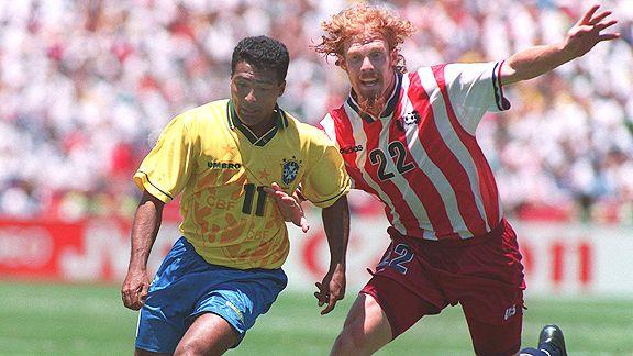 Lalas lideró a Estados Unidos en 1994 hacía los octavos donde caería con Brasil.