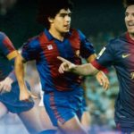 The top ten players in the history of Barcelona