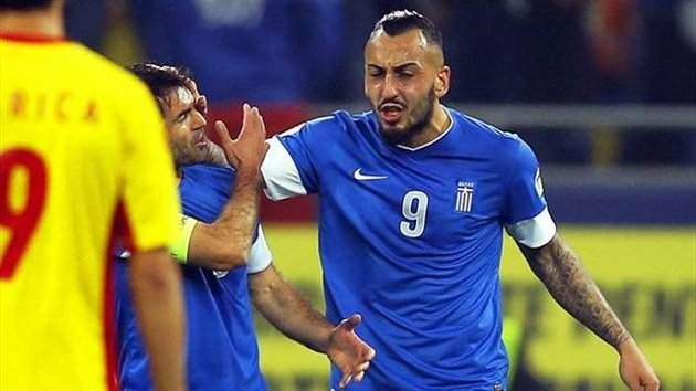 Mitroglou scripted Greece for the World Cup 2014.