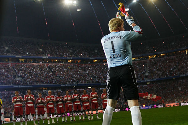 Oliver Kahn, one of the best goalkeepers in history