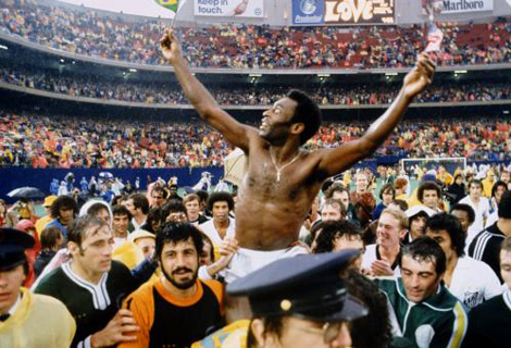 Parting of the Ways Pele in New York 1 October 1977.