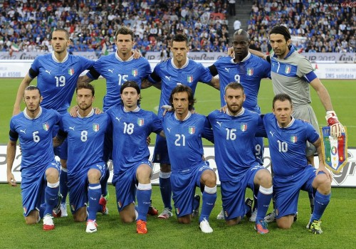 Italy, as usual with the usual and Balotelli