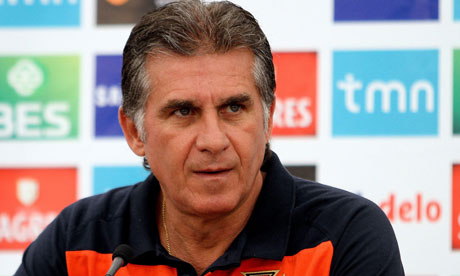 Carlos Queiroz is the coach of Iran.