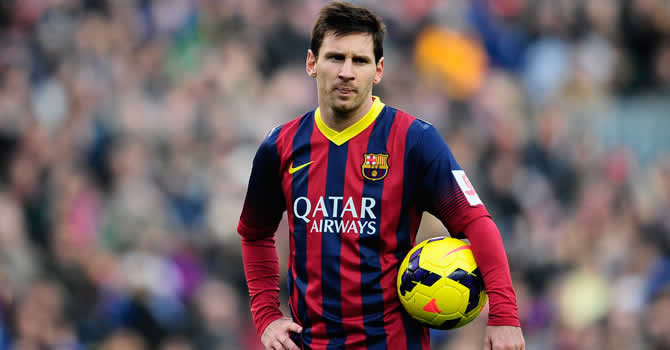 What happens to Messi?