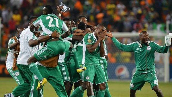 Nigeria ganó la última Copa África.
