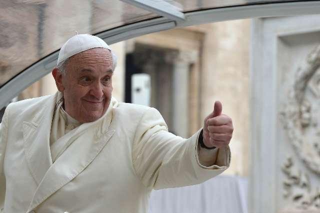 Al Papa Francisco le va el fútbol.