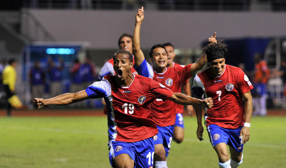 Costa Rica passed as second in the Hexagonal.