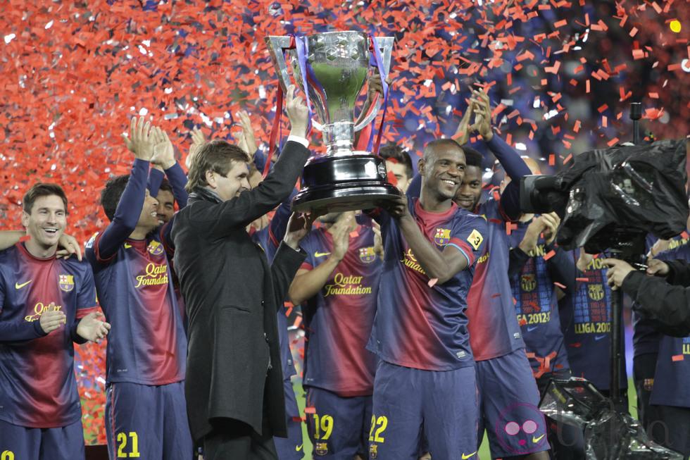 Tito y Abidal compartieron la última Champions.