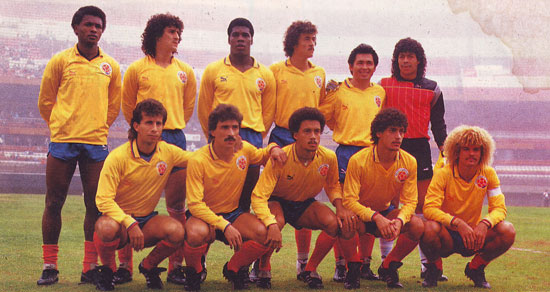 Valderrama led the Colombian national team since the late 80.